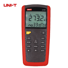 Uni-t UT325 Digital termometro medidor de temperatura Tester T1-T2 entrada dupla alta / baixa a alarme e Auto