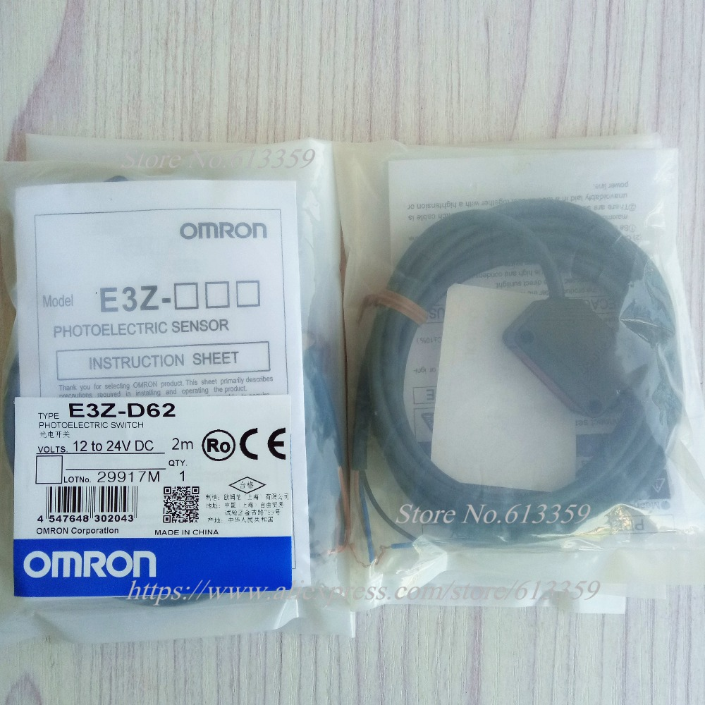 E3Z D62 PNP 8 50cm Omron Photoelectric Sensor New High Quality In ...
