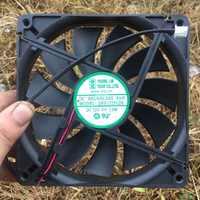 Ventilateur refroidisseur de processeur pour jeune Lin DFS132512H silencieux châssis refroidissement DC 12 V 3 W 0.25A 2200 RPM 13525 13.5 cm 135*135*25mm 2 fils