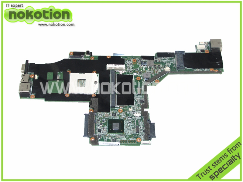 NOKOTION FRU 63Y1967 For Lenovo thinkpad T420 T420i Laptop motherboard QM67 DDR3 Socket PGA989 High Quanlity Mainboard nokotion for acer aspire v3 771 laptop motherboard va70 vg70 mainboard rev 2 0 pga989 hm77 ddr3 one hdd connector