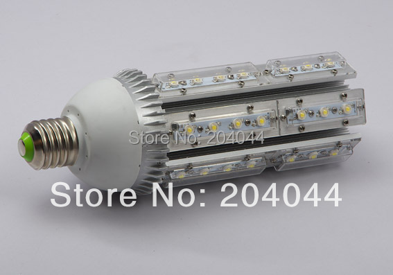 Free Shipping: 3pcs/lot E40/27 Base Led Corn Street Light Bulbs With 42*1w Power, 85 To 265v Ac Voltage, Ce And Rohs-certified e40 100w led corn light with fan free shipping