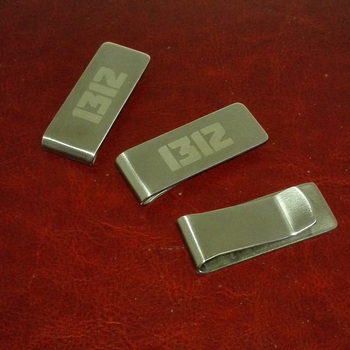 Silver&gold currency dollars clip customized with your Company logo 20pcs a lot best gifts for small business