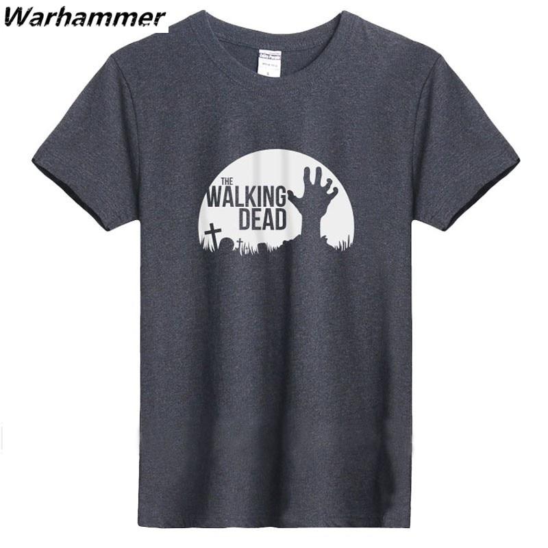 Tricou Walking Dead T-shirt American Dream T-shirt cu maneci scurte - Imbracaminte barbati