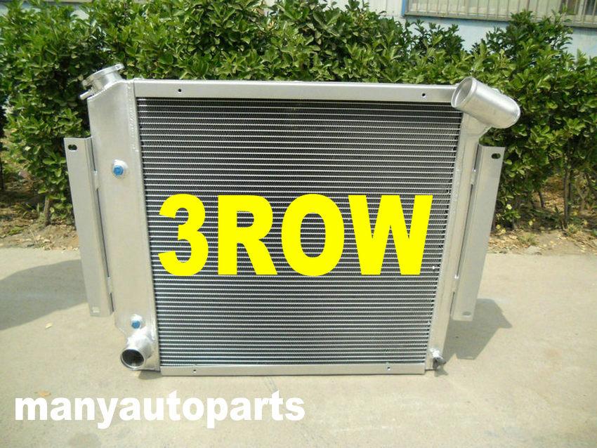 3 Row Aluminum Radiator For International Scout II /& Pickup V8 1970-1981 78 79