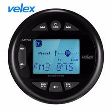 Водонепроницаемый Bluetooth аудио морской цифрового мультимедиа стерео ресивер с MP3 плеер AM, FM радио и USB для лодки UTV моторные обтекатели