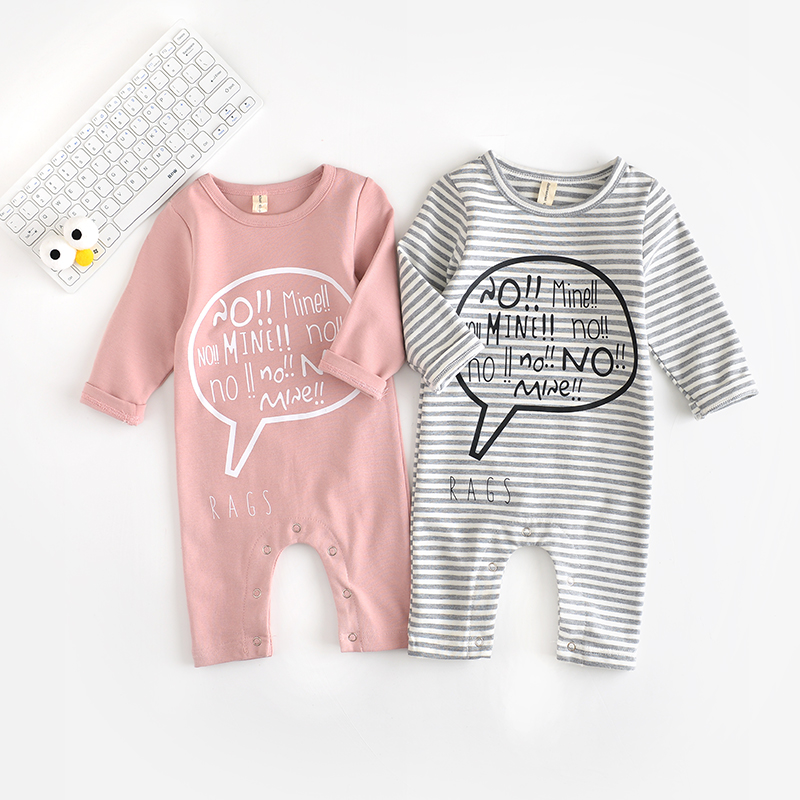 Baby Rompers Infant Newborn Cartoon stripe Romper Costume Cotton Tie Jumpsuit Clothes cactus Letter Body Suit Baby Boys Clothing winter warm thicken newborn baby rompers infant clothing cotton baby jumpsuit long sleeve boys rompers costumes baby romper