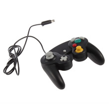 Black Wired Controller for Nintendo Gamecube Console Handheld For NGC Gamepad Control