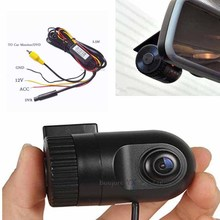 Mini Car DVR Camera Dash Cam Video AV RCA input Recorder Night Vision HD 1920P Front Camera Tachograph Safe Asystem