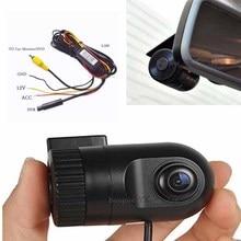 Мини Видеорегистраторы для автомобилей Камера регистраторы видео AV вход RCA Регистраторы Ночное видение HD 1920 P Фронтальная камера тахограф безопасный системной