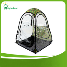 150*150*160cm Windproof Fish Tent PVC Transparent Sunshine warm fishing tents For winter or Summer