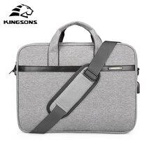 "KINGSONS 2018 ใหม่ยี่ห้อสำหรับแล็ปท็อป 11 "",12"",13 "",14"",15 ""Messenger กระเป๋าถือกระเป๋าสำหรับเดินทางธุรกิจ"
