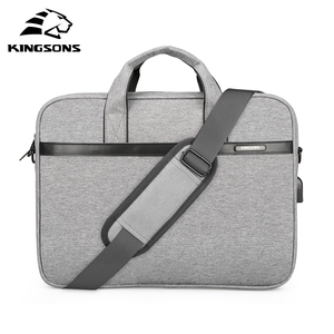 "KINGSONS 2018 New Brand Case For Laptop 11"",12"",13"",14"",15"" Messenger Handbag Sleeve Bag For Business Travel(China)"