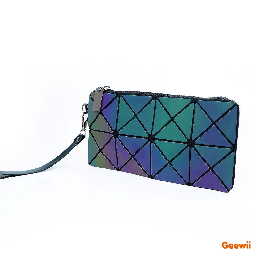 2019 Lady's Cosmetic Clutch Bag Toiletry Fashion Star Geometric Folding Make Up Bags Travel accessories Woman Makeup Mini Purse 2