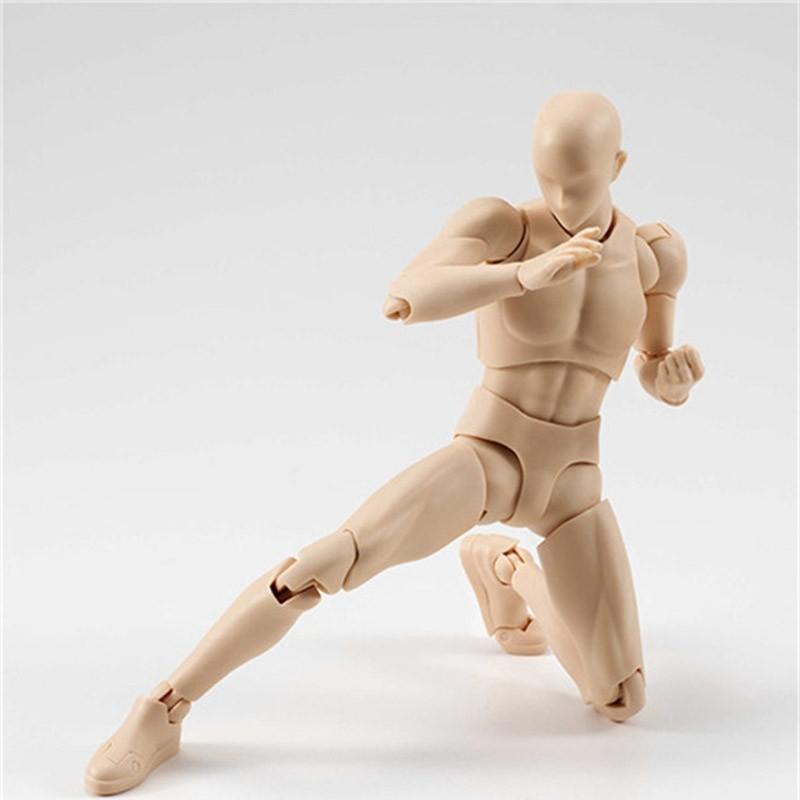 6 Types 2 Colors SHFiguarts Body Chan Body Kun Black Skin Color Ver PVC Action Figure Collectible Model Toy (29)