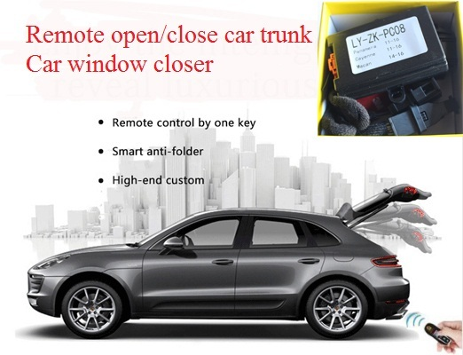 Remote Trunk Close Open By Key For Porsche Cayenne Panamera Macan