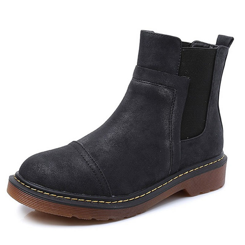 ФОТО 2016 autumn and winter boots extra large 41 - 43 boots flat heel soft outsole boots 40 42 plus size maternity boots 34