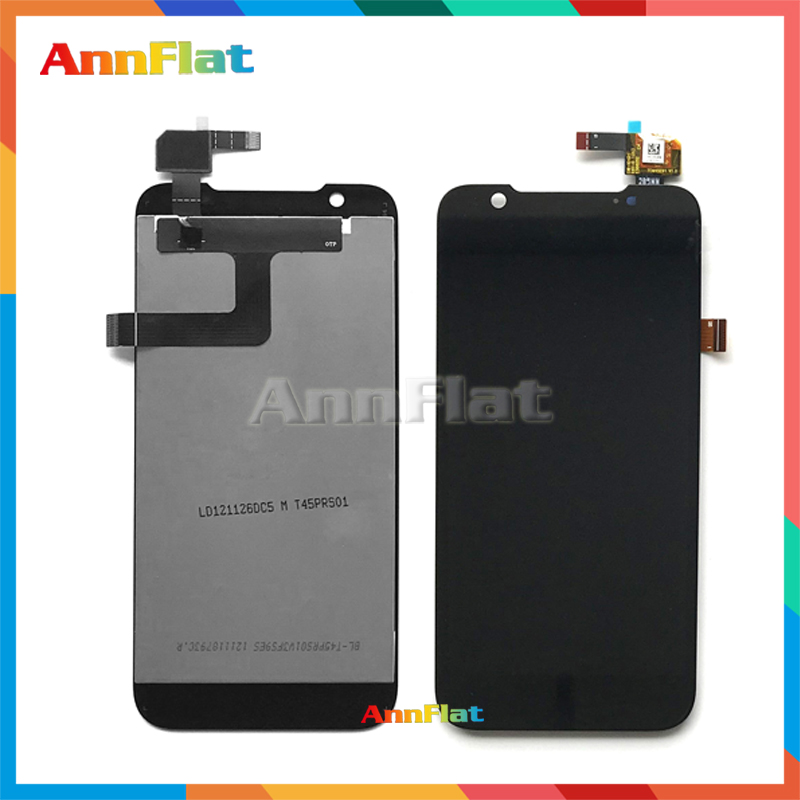 10pcs/lot high quality 4.5 For ZTE Grand Era V985 U985 LCD Display Screen With Touch Screen Digitizer Assembly Free shipping