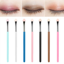 5Pcs Makeup Set Sponge Eye Shadow Eyeliner Brush Applicator Tool цена