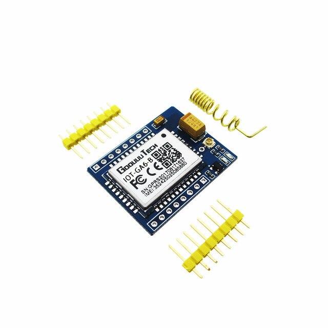 10 adet/grup mini A6 GPRS GSM Kiti GA6 B Kablosuz Uzatma Modülü Kurulu Anten Test için SIM800L