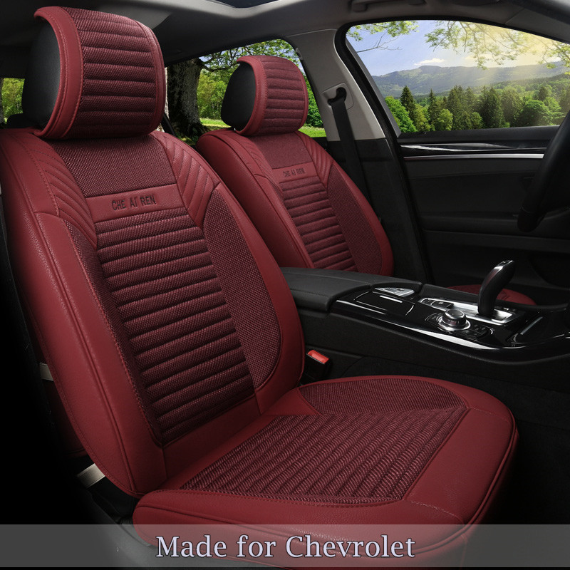 Chevrolet Malibu 2014 For Sale: Linen Flax Leather Seat Cover For Chevrolet Malibu XL