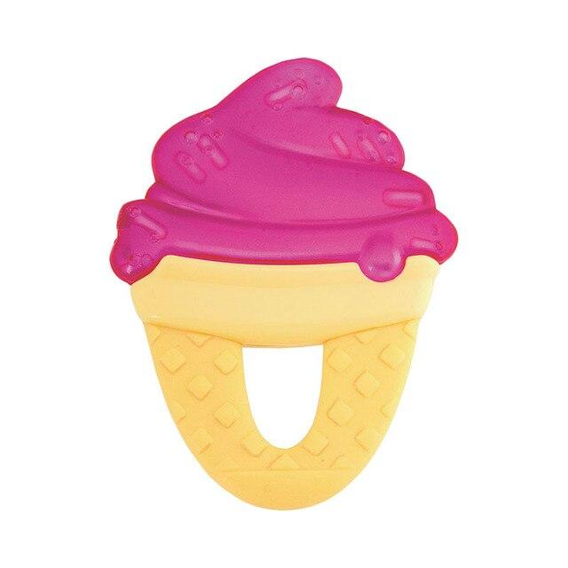 """Прорезыватель-игрушка Chicco Fresh Relax """"Мороженое"""", 4мес. + цвет: красный"""