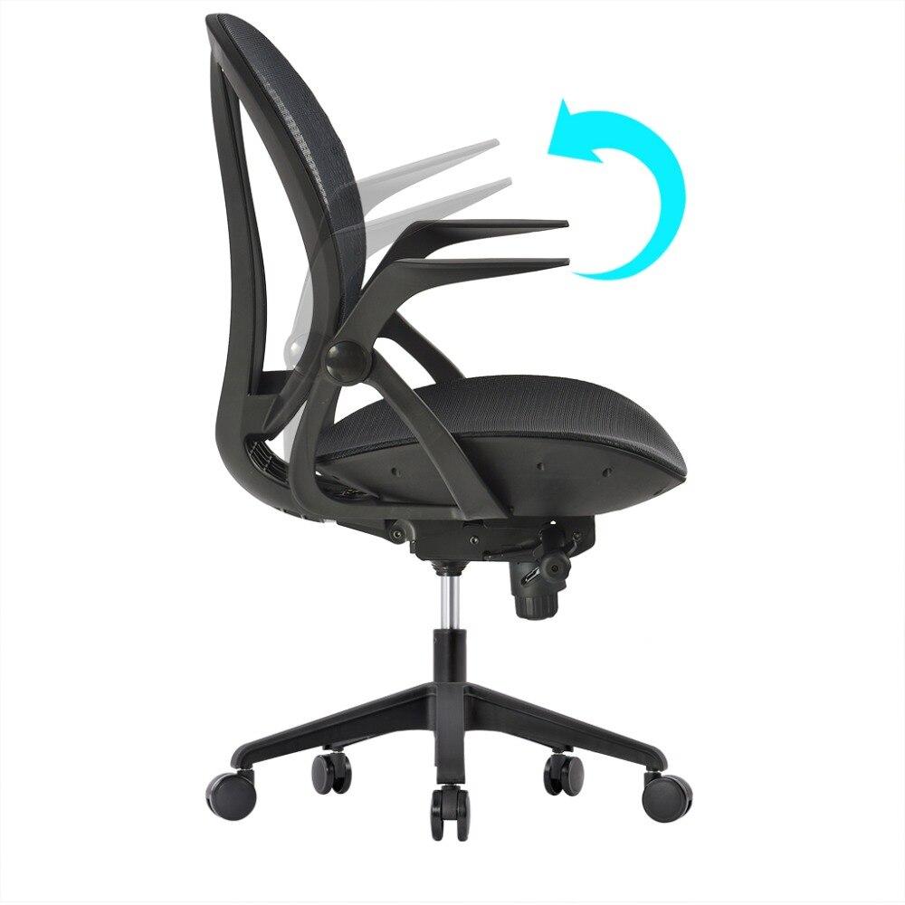 Bureaustoel Met Armleuning.Bureaustoelen Met Verstelbare Armleuningen