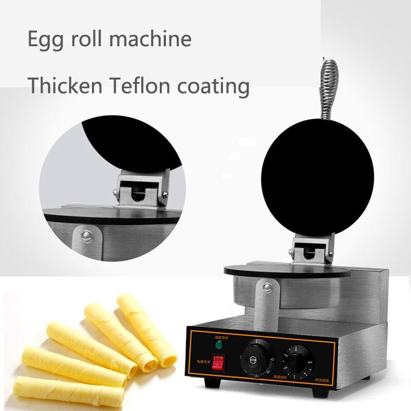 directly factory Egg Roll Waffle Stick Machine Egg roll making machine/ wafer roll biscuit machine commerical egg roll roller mold egg roll biscuit maker egg roll rolling machine