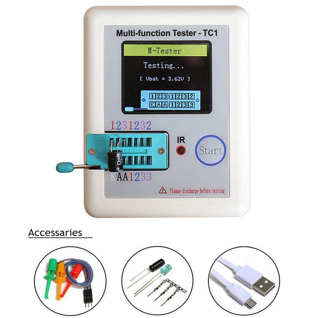 Kitteltasche Transistor Tester ist Die LCR-TC1 Volle Farbe Graphics Display