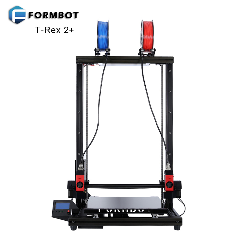 FORMBOT T-Rex 2+ Large 3D Printer with Customized Z Axis Height 400x400x700mm