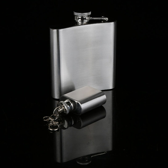 UPORS 18/10/9/8/7/6/5/4/1 OZ Petaca de cadera de acero inoxidable portátil de alta calidad botella de licor botella de Alcohol vino whisky matraz