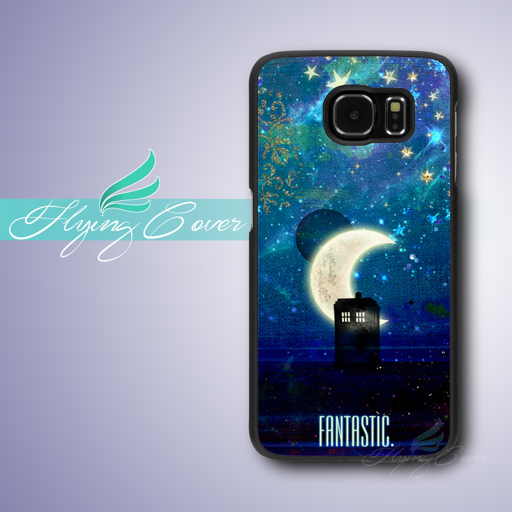 Coque Doctor Who Fantastic Tardis Phone Cases for Samsung Galaxy S8 S3 S4 S5 S6 S7 Edge Plus Case for Samsung Galaxy Note 5 4 3.