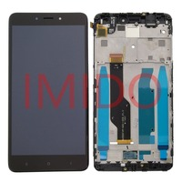 5 5 LCD For Xiaomi Redmi Note 4X LCD Display Touch Screen Digitizer Assembly Frame Replacement