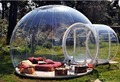 Claro carpa de césped inflable burbuja burbuja tienda de campaña al aire libre tienda de campaña con ventilador