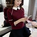DRL 2017 Marca Suéteres de Las Nuevas Mujeres y el Invierno Mujeres Calientes Suéter Engrosamiento Suéter Suéter Delgado Pullover