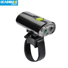 Sinterklaas Leadbike Cycling Front Frame Lights Waterproof Bicycle Bike Head Light USB Rechargeable Powerful LED Flashlight Bike Accessories