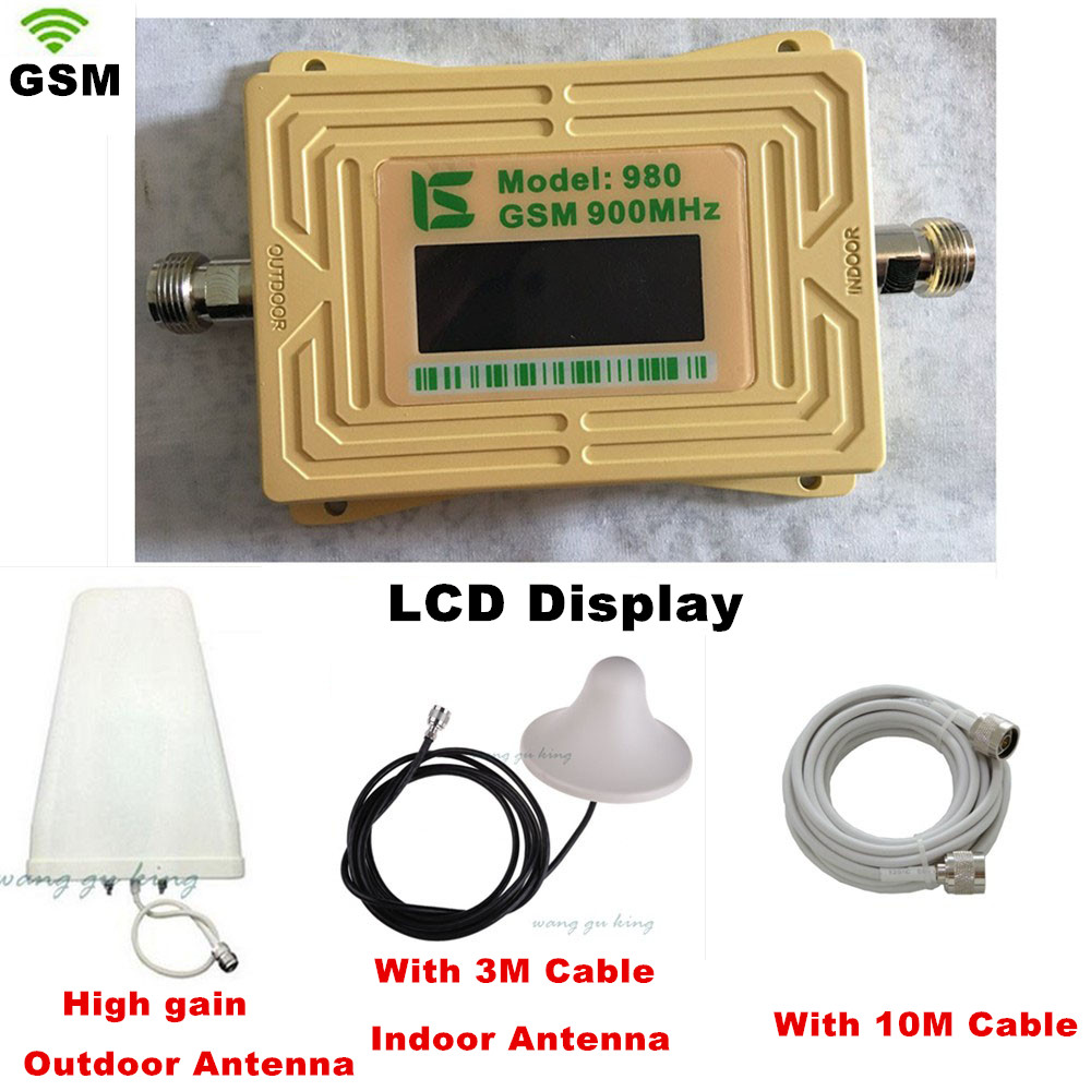 Full Set Boosters Mobile Phone GSM 980 900mhz Signal Boosters,gsm Signal Amplifier Cellular Phone GSM 900 Signal Repeater