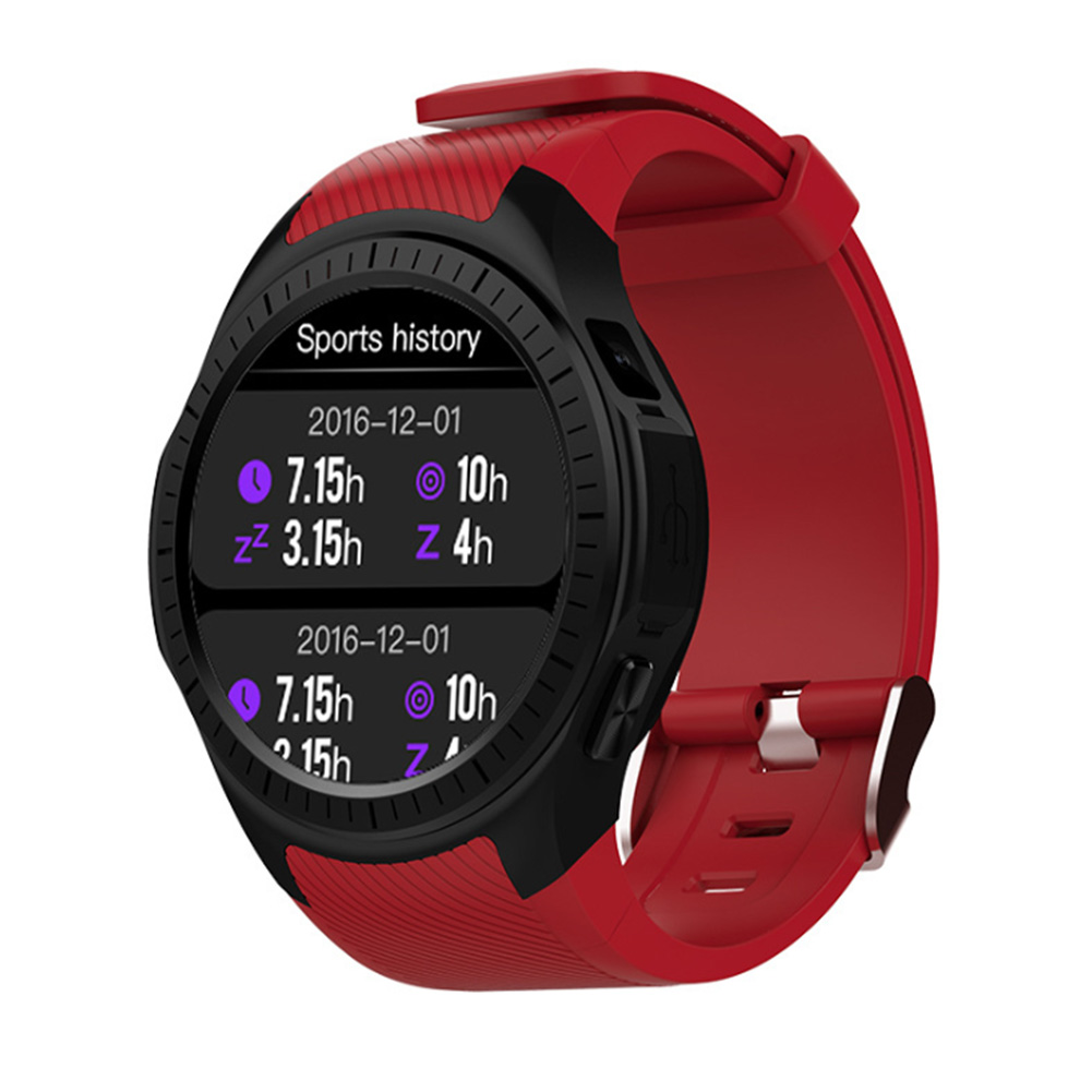 Heart Rate Blood Pressure Exercise Support Call Bluetooth Sports Sleep Tracker GPS Smartwatch Multifunctional 1.3 Inch ScreenHeart Rate Blood Pressure Exercise Support Call Bluetooth Sports Sleep Tracker GPS Smartwatch Multifunctional 1.3 Inch Screen