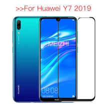 Safety Tempered Glass For Huawei Y7 2019 Protective Glass on For Huawei Y 7 2019 Screen Protector Y72019 DUB LX1 7Y Y7Pro 2019