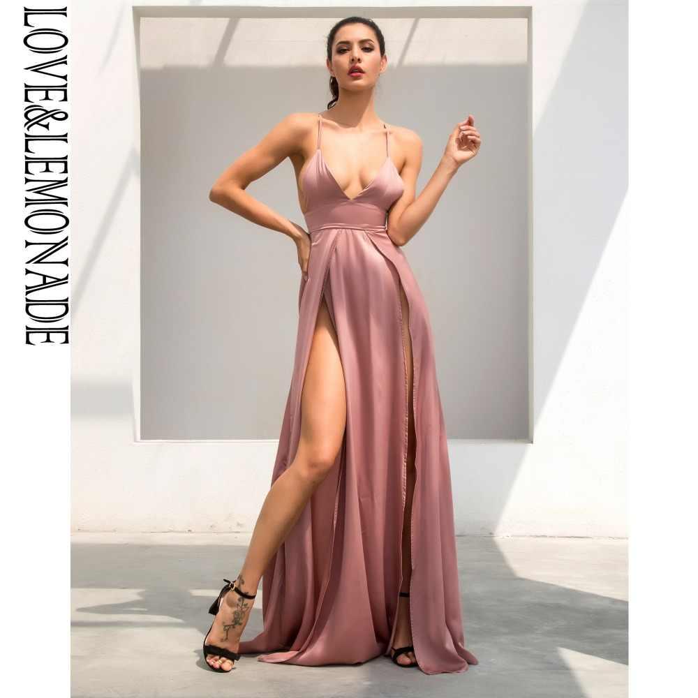 1b5348622b5 Love   лимонад телесного цвета Цвет v-воротником нерегулярные платье LM0103