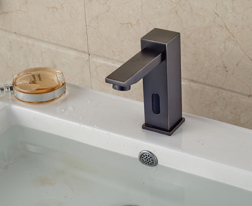 Traditional Automatic Touch Free Lavatory Bathroom Sink Sensor Faucet Oil Rubbed Bronze In Basin Faucets From Home Improvement On Aliexpress Alibaba