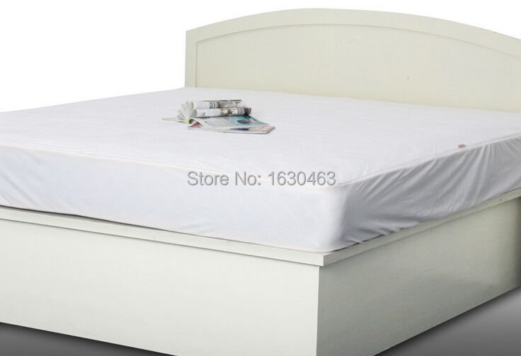 Twin Full Queen King Size Luxury Tencel Waterproof Mattress Protector Cover For Bed Bug Usa