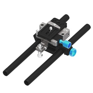FOTGA DP500III QR 15mm Rod Baseplate Rig for A7 A7S a7RII a6500 FF BMCC EX-FS700 PXW-FS7 A7 II 5D2 5D3 VG30 VG900