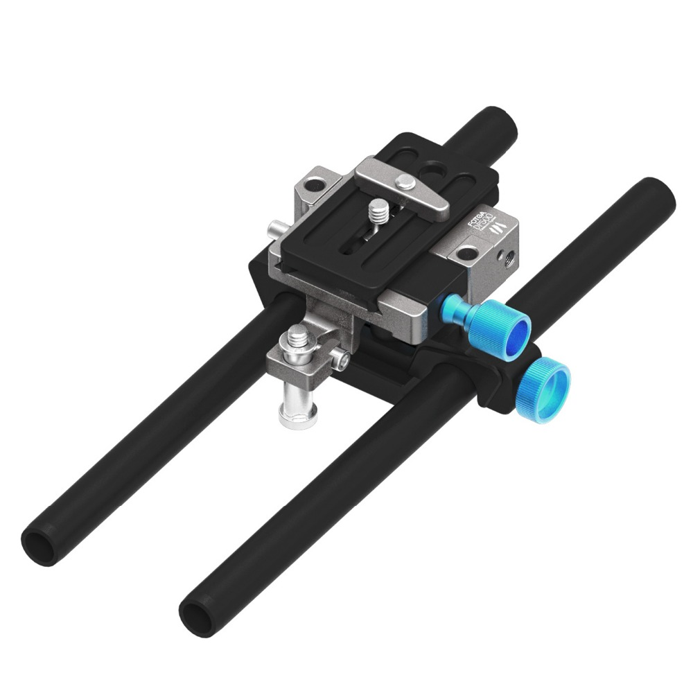 FOTGA DP500III QR 15mm Rod Baseplate Rig for A7 A7S a7RII a6500 FF BMCC EX-FS700 PXW-FS7 A7 II 5D2 5D3 VG30 VG900 недорого