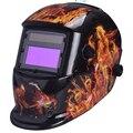 Nueva pantalla Grande de 2 Sensores de auto solar oscurecimiento de soldadura casco tapas de soldadura TIG MIG MAG soldadura soldadura capucha sombreros de Molienda máscara