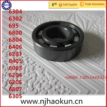 Free shipping 1pcs 6304 6302 695 6800 6804 6406 6201 6405 6005 6204 6205 6807 6305 full SI3N4 ceramic bearing цена и фото