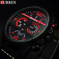 2017 CURREN Watches Men Luxury Brand High Quality Watch Men Clock Male Sports Quartz-Watch Mens Wristwatch Orologio Uomo Hodinky