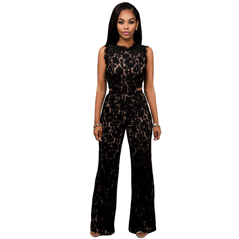 Rompers with a bandeau neckline and adjustable spaghetti straps work well with your daytime or beach look, while a blouson-fit bodice gives your rompers a subtle touch of refinement. For a night on the town, nothing can match the chicness of a black zipper-front jumpsuit.