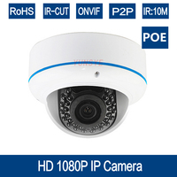 YUNSYE 2 0MP POE Starlight IP Camera 1080P Outdoor Dome CCTV 0 01Lux Day Night Full