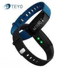 Teyo V07 Умный Браслет Артериального Давления Браслет Сообщение Уведомления Монитор Сердечного ритма Bluetooth Смарт Wristabands для Android iOS