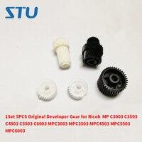 Conjunto 1 5 PCS Original Engrenagem Developer para Ricoh MP C3003 C3503 C4503 C5503 C6003 MPC3003 MPC3503 MPC4503 MPC5503 MPC6003|Peças de impressora| |  -